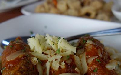 Meze, a traditional Mediterranean appetizer, in Greece. Flickr:kennejima
