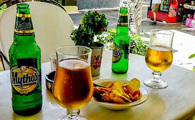 Mythos, the local beer in Greece. Flickr:Keith Laverack
