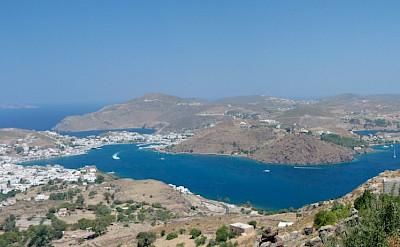 Overlooking Patmos Island, Greece. Flickr:kellinahandbasket