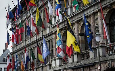 Parliament in Antwerp, Belgium. Flickr:Leonardo Angelini