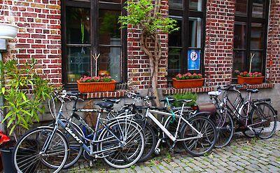 Bike rest in Ghent, Belgium. Flickr:Alain Rouiller