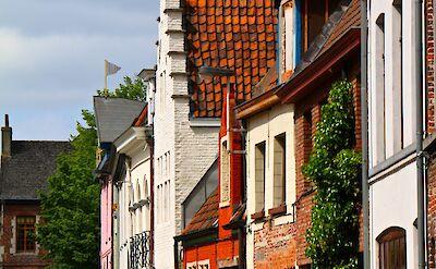 Biking through Ghent, Belgium. Flickr:Alain Rouiller