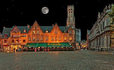 Main Square in Bruges, Belgium. ©Hollandfotograaf