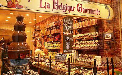 La Belgique Gourmande shop in Belgium. Flickr:Jessica Gardner