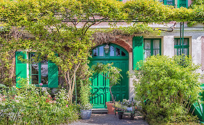 Claude Monet's house in Giverny, France. Flickr:Steven dosRemedios