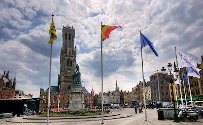 Belfort in Bruges, Belgium. Flickr:Wolfgang Staudt