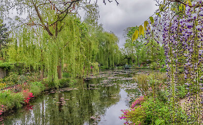 Le Jardin d'Eau at Monet's House in Giverny, France. Flickr:Steven dosRemedios
