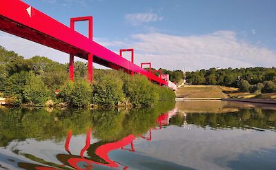 Passerelle de Laxe Majeur by Cergy. ©TO