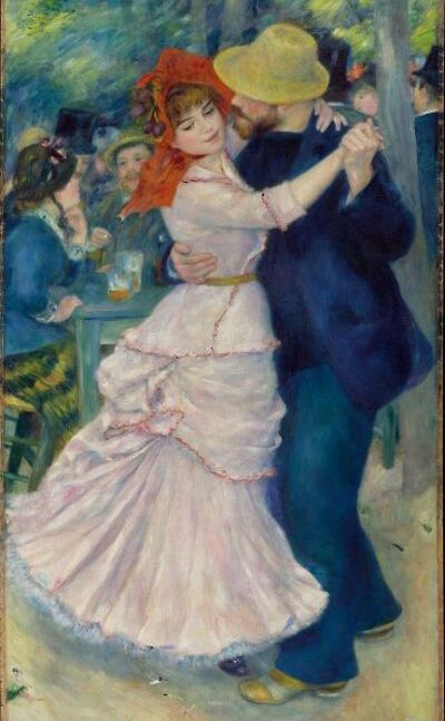Renoir's Dance at Bouvigal. Bouvigal, France 1883