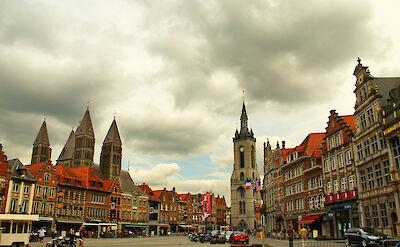 Bike rest in Tournai, Belgium. Flickr:Daxis