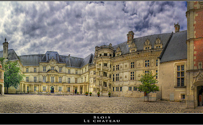 The Renaissance Château de Blois, once home to King Louis XII, Loire Valley, France. Flickr:@lain G