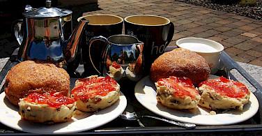 Tea time in Ireland. Flickr:godo godaj