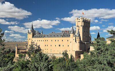 Alcázar de Segovia in Spain. Flickr:Dmitry Djouce