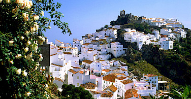 Mountain village of Casares, Málaga, Andalusia, Spain. Flickr:miquitos