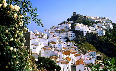Mountain village of Casares, Málaga, Andalusia, Spain. Flickr:miquitos