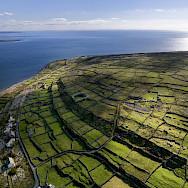 Aran Islands in County Galway, Ireland. Photo via Flickr:Devon Martin