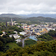 Clifden in County Galway, Ireland. Flickr:Bert Kaufmann