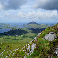 View from Diamond Hill in Connemara, Ireland. Photo via Flickr:Randi Hausken