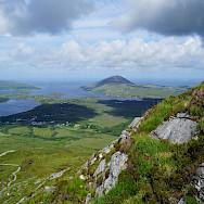 View from Diamond Hill in Connemara, Ireland. Photo via Flickr:Randi Hausken