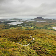 Sweeping landscape views in Connemara, Ireland. Photo via Flickr:Eric Verleene