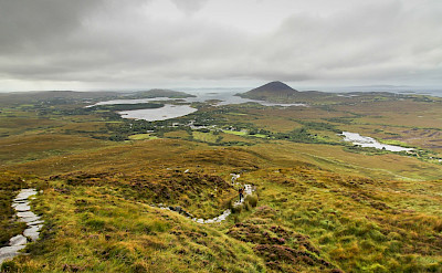 Sweeping landscape views in Connemara, Ireland. Flickr:Eric Verleene
