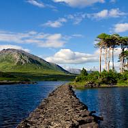 Derryclare Lough in Connemara, Ireland. Photo via Flickr:Leo Daly