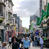 Shopping in Galway, Ireland. Photo via Flickr:Robert Linsdell
