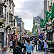 Shopping in Galway, Ireland. Photo via Flickr:Robert Linsdell