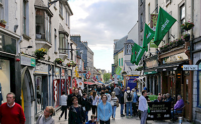 Shopping in Galway, Ireland. Flickr:Robert Linsdell