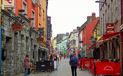 Quay Street in Galway, Ireland. Flickr:IrishJaunt