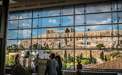 View of the Acropolis from the Museum in Athens, Greece. Flickr:Phanatic
