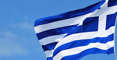 Flag of Greece. Flickr:Ana Raquel Shernandes