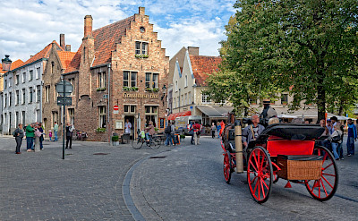 Beautiful Bruges in Belgium. ©holland fotograaf