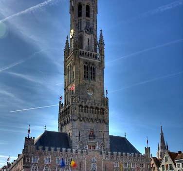 Belfry in Bruges. Photo courtesy of Wikimedia Commons
