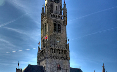Belfry in Bruges. Photo courtesy of Creative Commons