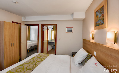 Comfortable rooms at eco friendly Hotel Fevery