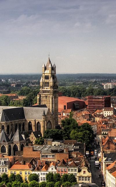 Saint Salvator Cathedral in Bruges, Belgium. Flickr:Wolfgang Staudt