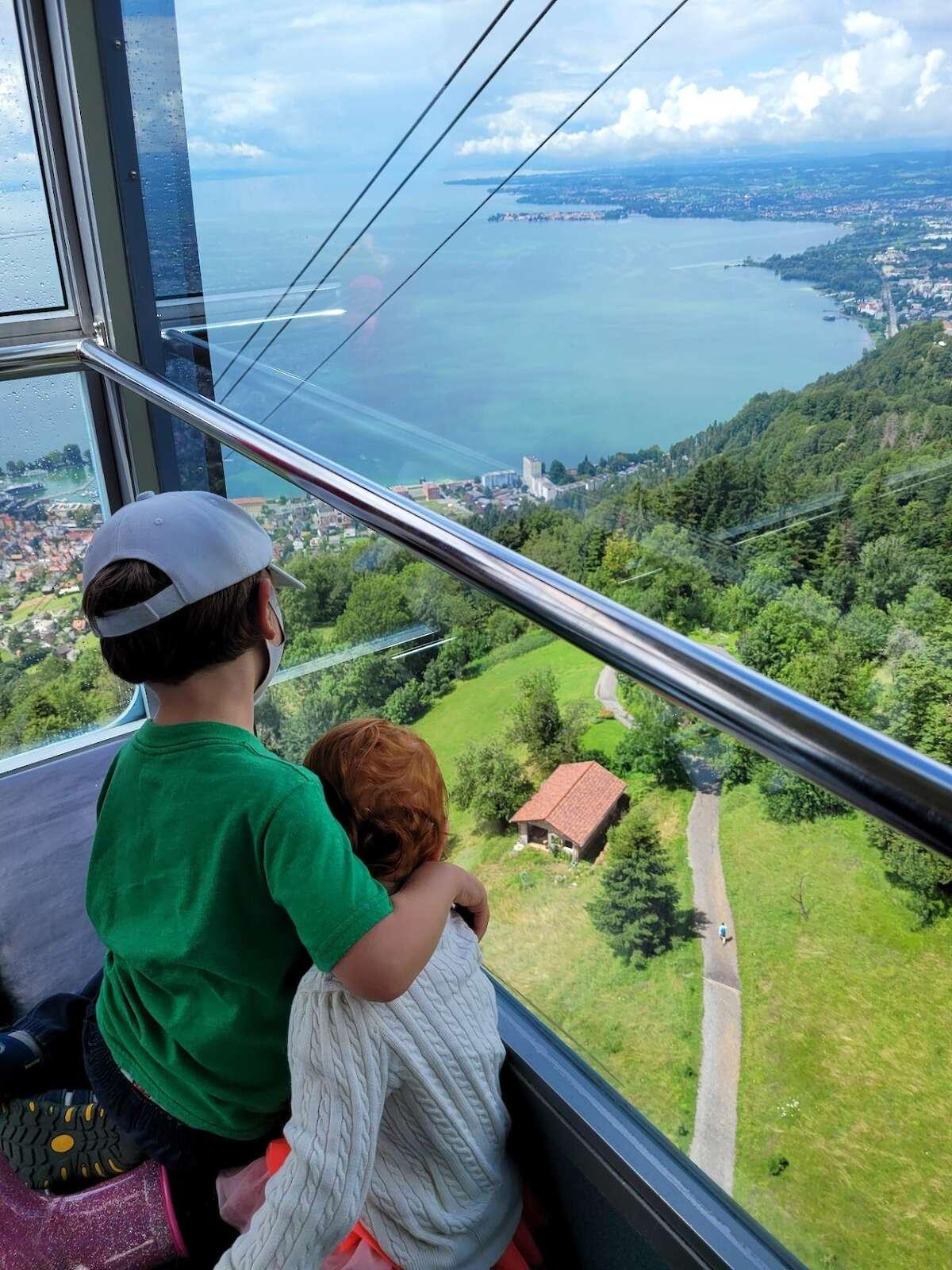 Gondola ride Lake Constance