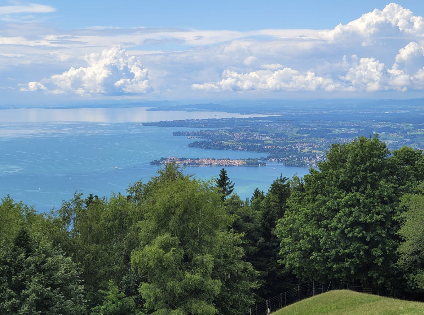 Beautiful view of Lake Constance