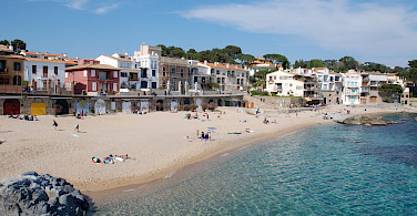 Beach in Girona, Spain. Photo via fotopedia:horrabin