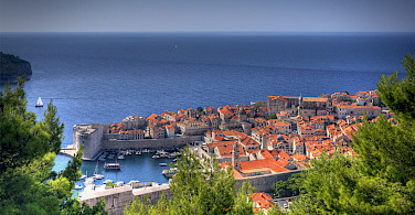 Old Town in Dubrovnik on the Dalmatian Coast in the Adriatic Sea, Croatia. Photo via Flickr:Michael Caven