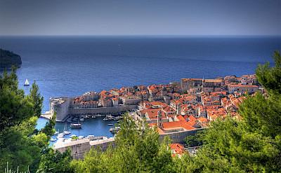Old Town in Dubrovnik on the Dalmatian Coast in the Adriatic Sea, Croatia. Photo via Flickr:Michael Caven