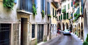 Bike rest in Asolo, Veneto, Italy. Photo via Flickr:Ronald Menti