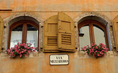 Facades in Belluno, Italy. Flickr:Irene Grassi