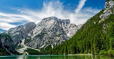 Lake in Toblach (<i>Dobbiaco</i> in Italian), Trentino-Alto Adige, Italy. Photo via Flickr:Robert J Heath