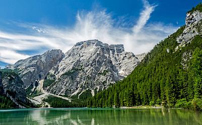 Lake in Toblach (<i>Dobbiaco</i> in Italian), Trentino-Alto Adige, Italy. Flickr:Robert J Heath