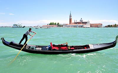 Gondola ride in Venice perhaps. Flickr:gnuckx
