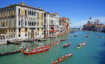 Grand Canal in Venice, Veneto, Italy. Flickr:Jean-Pierre Dalbera