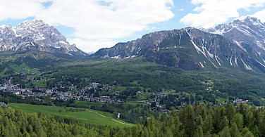 Cortina d'Ampezzo in the Dolomites, Italy. Photo via Flickr:MrHicks46