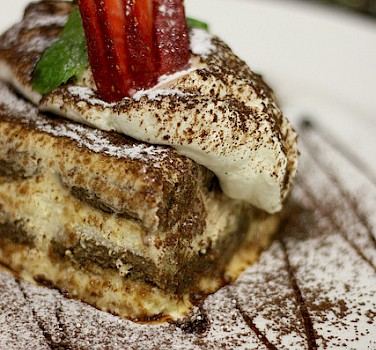Tiramisu originated in Treviso, Italy. Photo via Flickr:boo_licious